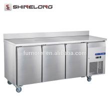 FRUC-5-1 FURNOTEL Réfrigérateur Undercounter 3 Portes Fancooling Chiller avec Backsplash