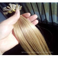 High quality factory price Russian hair double drawn keratin flat tip hair extensions