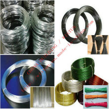Fio de ferro galvanizado Fio de ligação Fio de PVC Fio de aço inoxidável