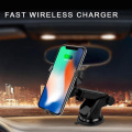 10W N5-3 Fast Wireless Car Charger Phone Mount