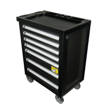 7 Drawer Professional Tool Box Roller Cabinet / Kraft Tool Trolley without Hand Tools