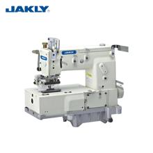 JK1417P 17-aguja de cama plana de doble puntada de cadena de máquinas industriales de múltiples agujas de prendas de vestir máquina