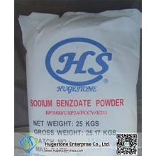 Benzoate de sodium de qualité alimentaire de haute qualité