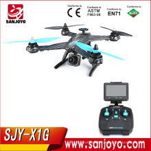 Newest JJPRO X1G Brushless RC Quadcopter 300-400M Distance Drone with 5.8G FPV Camera JJRC X1 Upgraded version SJY-X1G