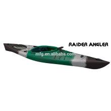 2015 дешевая пластиковая рыбалка на байдарке / каноэ складная гребная лодка на верхних распродажах