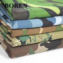 Tela de camuflaje de sarga de algodón para uso militar y para viajes (16X12 / 108X56)