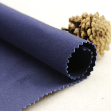 21x21 + 70D / 140x74 264gsm 144cm de profundidade do mar azul algodão dupla stretch twill 2 / 2S poliéster 95% tela de tecido de duas formas
