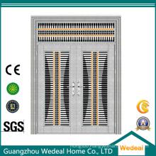 Bulk Supply Anti-Thief Glossy Steel Security Double Door