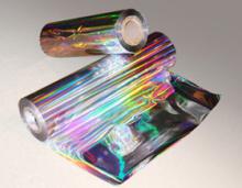 Filme de holograma arco-íris, BOPP-PET-PVC