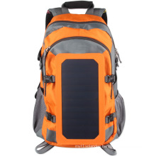 ECEEN big capacity red, green and black colors solar charger backpack 52cm*35cm*22cm size with adjustable strap solar backpack
