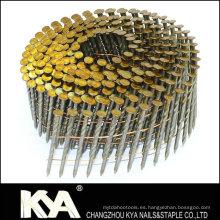 Clavos de bobina de 15 grados para construcción, decoración y empaque