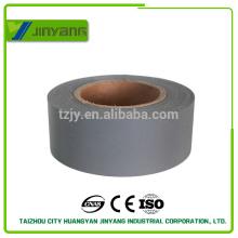 Fita de advertência de refletor de TC para o vestuário, cinza fita reflexiva tc por rolo