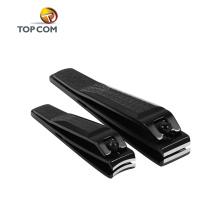 échantillon gratuit coupe-ongles acrylique plaqué cutter noir