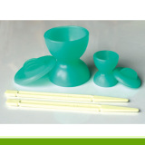 Dental material Double Sides Mixing Bowl with Cover