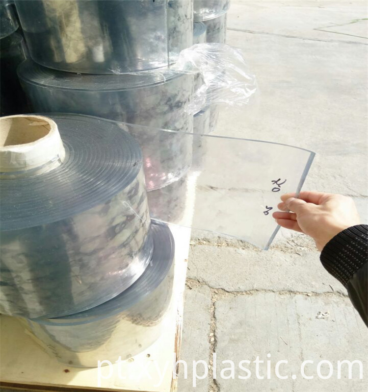 Rigid Soft PVC Curtain Roll