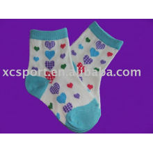 cotton color child sock