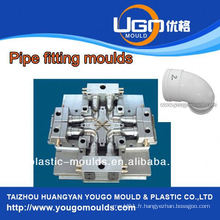 Fabrication professionnelle de moule pour la taille standard en plastique et le tuyau d'injection de pvc moule d'injection dans taizhou Chine