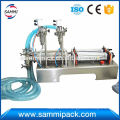 gfc-2y-500 High precise Double heads full pneumatic Liquid Filling Machine 100-1000ml