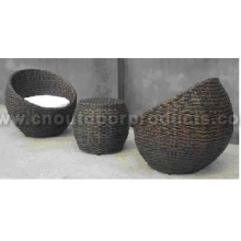 Outdoor Wicker Table and Chairs Set