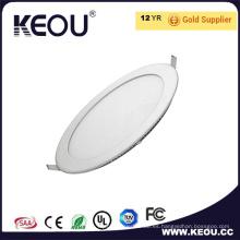 Certificado de CE/RoHS LED Slim Panel iluminación 3W/6W/9W/12W/18 w/24W