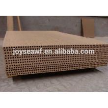 Placa de aglomerado oca hucha do chipboard do núcleo do uso / placa de partícula tubular / placa de partícula tubular para o núcleo da porta