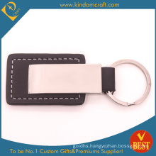 China High Quality Customized Genuine Leather Key Ring in Low Price for Gift