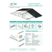 Solar PV System for Flat Roof Mounting