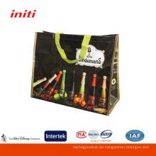 Umweltfreundliche Qualität pp gewebte Einkaufstaschen für Förderung