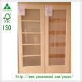 Radiate Pine Interior Wood French Door