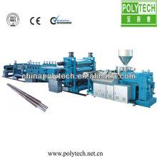 Chaîne de production de mousse de panneau libre de PVC / machine