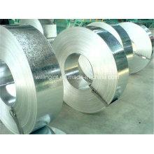 Tira de acero galvanizado caliente de la bobina del acero inoxidable para el techo