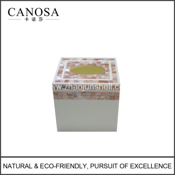Luxury Handicraft Mother of Pearl Tissue Box