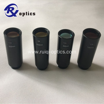 Optical Screw and Cicular Connector Laser Expanded-beam-lens