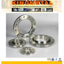 Bride de plaque de grand diamètre de 78 pouces en acier inoxydable forgé F316