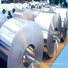 Serie 3000 Brillante hoja de aluminio / acabado de molino Bobina de aluminio en rollos