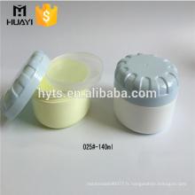 140ml en plastique pp pot de crème vide