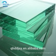 Vidro temperado grosso de 10mm, vidro moderado claro