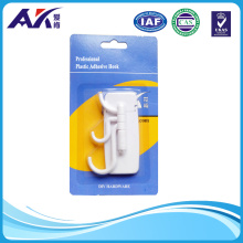 Strong Recycled Plastic Bathroom Adhesive Hook