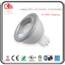5W / 7W Dimmable 12V LED MR16 Scheinwerfer mit Gu5.3 Base