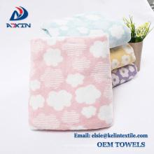 Serviette de bain / serviette de visage japonais super doux de 100% coton pour l'hôtel et la maison