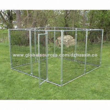 Metal Dog Kennel Fencing with welded Wire Mesh for Large Outdoor