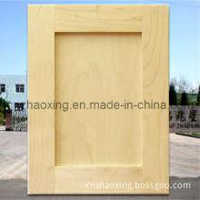 Unfinished Oak Shaker Kitchen Cabinet Doors for France Market