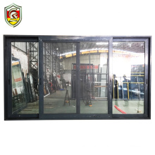 European residential high quality 3 tracks double glazing aluminium sliding door banquet hall door