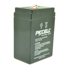 O preço de grosso PKCELL VRLA selou a bateria acidificada ao chumbo 6v 4.5ah para o sistema solar