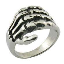 Кольцо с острыми кольцами из стали