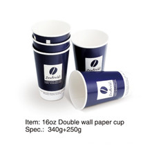 Copo de café duplo papel de parede