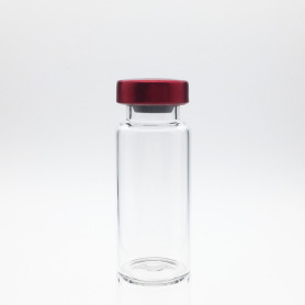 10ml Sterile Serum Vials Red Cap