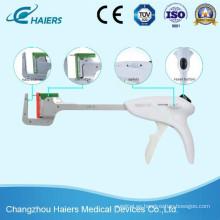 Grapadora quirúrgica de titanio Ethicon Dispositivos de grapado lineales desechables de Oxirane
