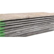 Placa superpuesta resistente al desgaste no agrietada