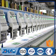 zhaoshan 24 heads flat industrial computerized embroidery machine